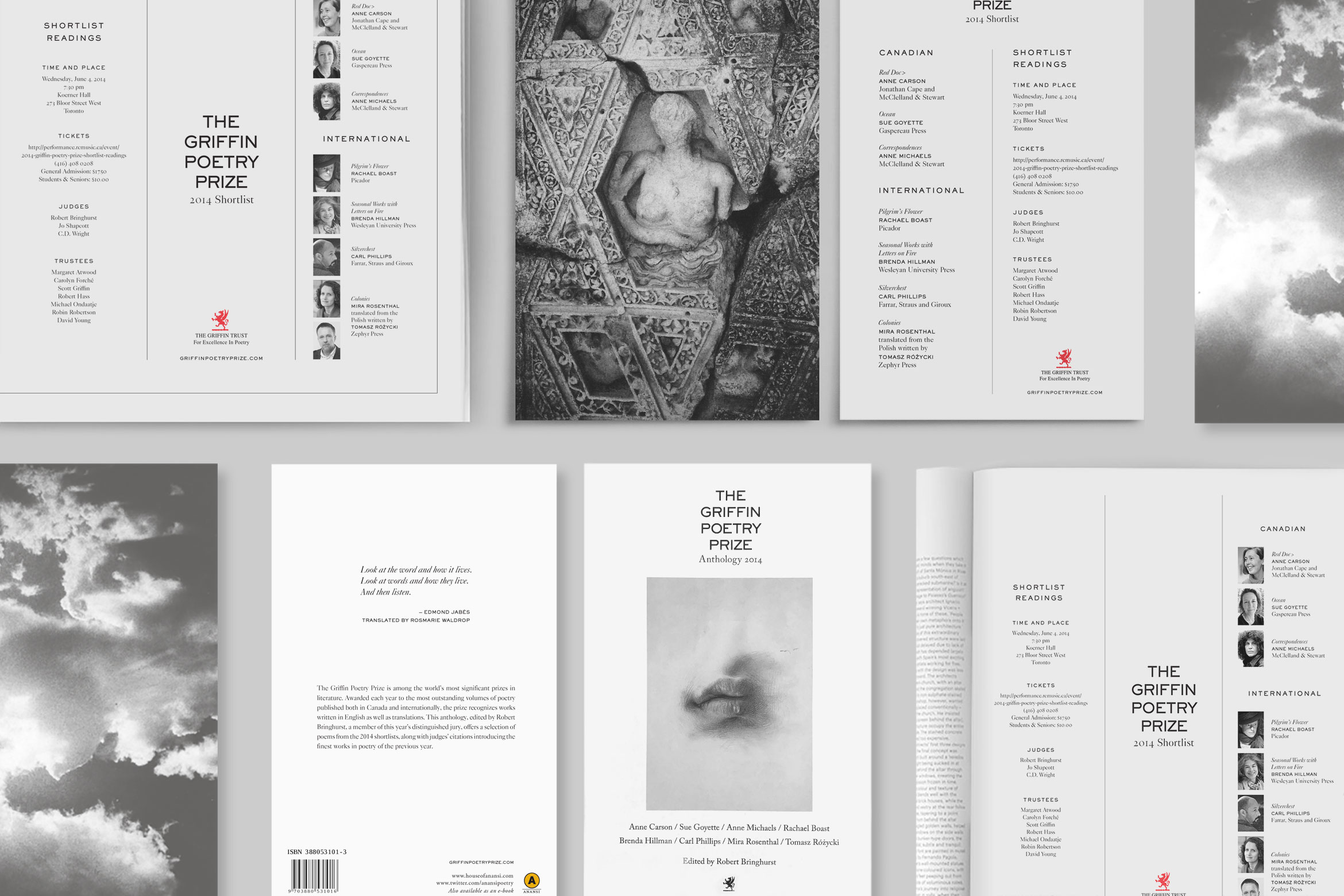 The Griffin Poetry Prize – Visual Identity